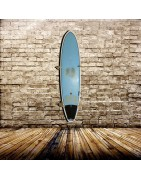 Vertical Hardwood Surf Rack