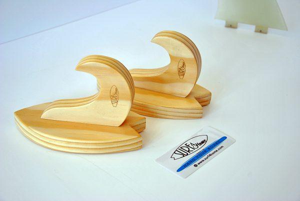 Handmade hardwood Small Surf Rack